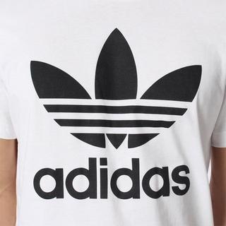 アディダス(adidas)のXS【新品/即日発送OK】adidas オリジナルス デカロゴ Tシャツ 白/黒(Tシャツ/カットソー(半袖/袖なし))