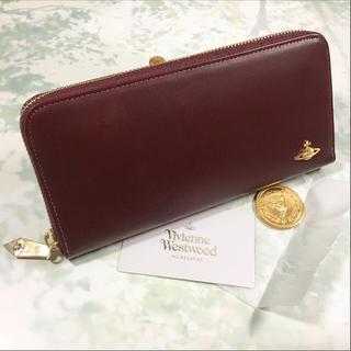 ヴィヴィアンウエストウッド(Vivienne Westwood)の未使用☺︎Vivienne Westwood 長財布 ヴィヴィアン ワインレッド(財布)