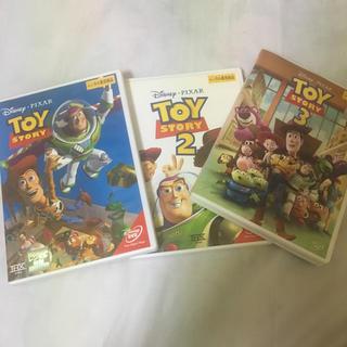 ディズニー(Disney)の全部日本語吹き替え有りトイストーリー三巻セット(CD/DVD収納)