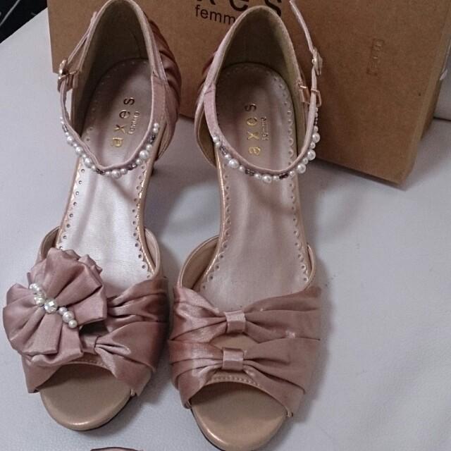 axes femme(アクシーズファム)のドレス用の靴♪ レディースの靴/