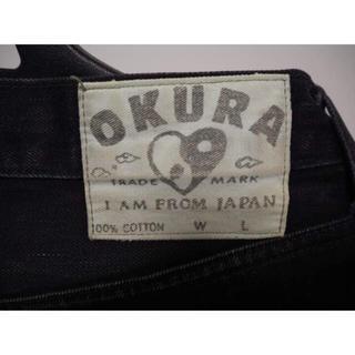 オクラ(OKURA)の★SALE★ OKURA ブラック ジーンズ ウエスト 79(デニム/ジーンズ)