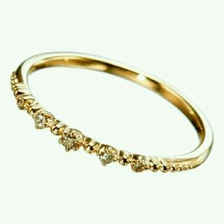 ノジェス(NOJESS)の新品★ノジェス 5Pダイヤモンド ピンキーリング 5号(リング(指輪))
