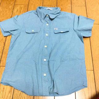 シマムラ(しまむら)のチェックした柄半袖シャツ(Tシャツ/カットソー)