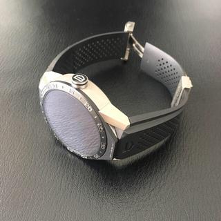 タグホイヤー(TAG Heuer)のタグホイヤー コネクテッド ブラック アンドロイド(腕時計(デジタル))