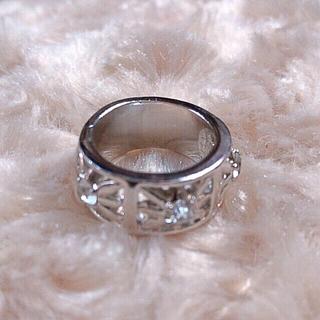 シルバー ♡デザインリング💍(リング(指輪))
