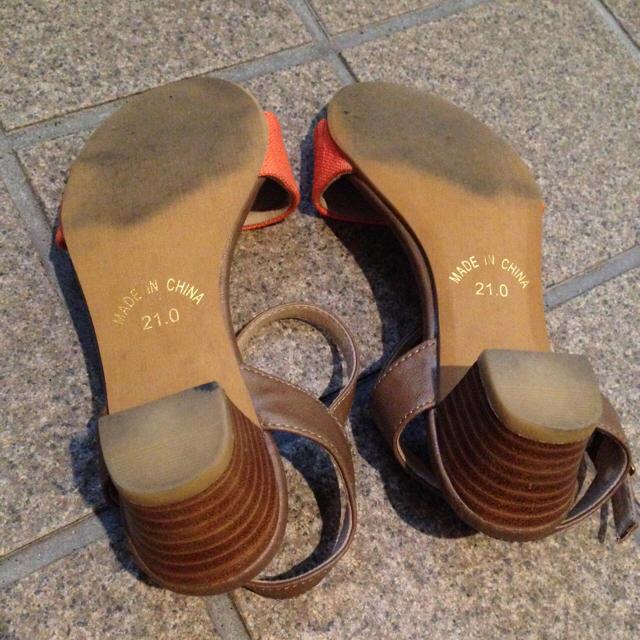 velikoko(ヴェリココ)の【たぁ様専用】21cm ヴェリココ サンダル 小さいサイズ レディースの靴/シューズ(サンダル)の商品写真