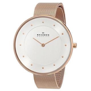 スカーゲン(SKAGEN)の【人気再入荷】スカーゲン 腕時計 レディース SKW2142 ピンクゴールド(腕時計)