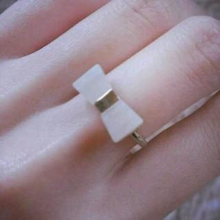 ビームス(BEAMS)のリボンリング(リング(指輪))