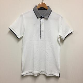 エポカ(EPOCA)の美品 EPOCA UOMOエポカウォモ 前立て切替半袖ポロシャツ46(ポロシャツ)
