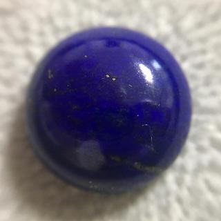 ◆宇宙のような深い青…天然石ラピスラズリ10.5ct ルース ハンドメイド作品に(その他)