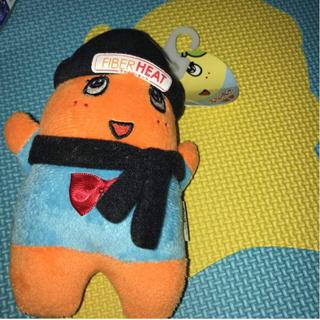 シマムラ(しまむら)のオレンジふなっしー  ファイバーヒート(ぬいぐるみ)