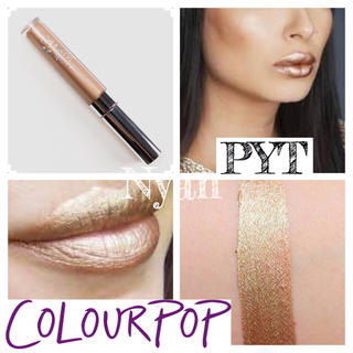 カラーポップ(colourpop)の新品Colourpop Ultra Metallic Lip PYT(リップグロス)
