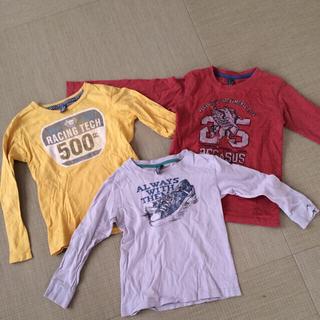 ザラキッズ(ZARA KIDS)のロンT3枚セット♡ザラキッズ(Tシャツ(長袖/七分))