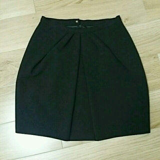アクアガール(aquagirl)のアクアガール スカート 黒(ひざ丈スカート)