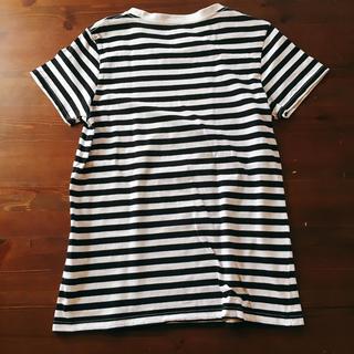 Maison de Reefur(メゾンドリーファー)の【美品】メゾンドリーファー ボーダーTシャツ レディースのトップス(Tシャツ(半袖/袖なし))の商品写真