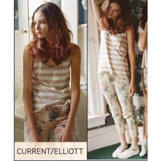カレントエリオット(Current Elliott)の美品✨ Current/Elliott カリントエリオット フラワーデニム♡(デニム/ジーンズ)