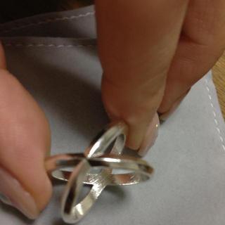 マウジー(moussy)のmoussy クロスリング(リング(指輪))