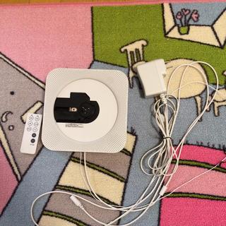 ムジルシリョウヒン(MUJI (無印良品))の無印良品 壁掛け式 CDプレーヤー(ポータブルプレーヤー)
