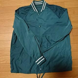 ジーユー(GU)のGU・ジャケット緑色・中古(ノーカラージャケット)