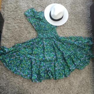 アクアガール(aquagirl)のアクアガール花柄ワンピース(その他ドレス)