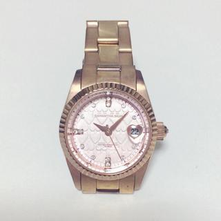サマンサシルヴァ(Samantha Silva)のサマンサ シルバー ピンクゴールド 腕時計(腕時計)