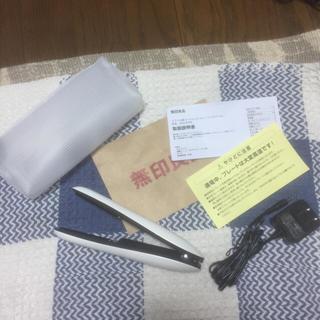 ムジルシリョウヒン(MUJI (無印良品))のトラベル用コードレスストレートヘアアイロン 無印良品(ヘアアイロン)