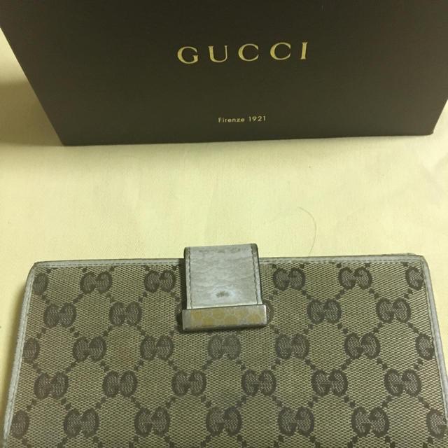 Gucci(グッチ)の本日限定プライス! グッチ長財布ホワイトカラー♡ メンズのファッション小物(長財布)の商品写真
