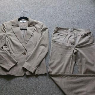 ナチュラルビューティーベーシック(NATURAL BEAUTY BASIC)のパンツスーツセット(スーツ)