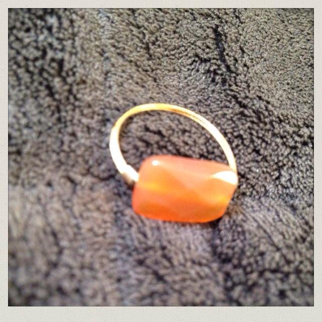 カラーストーン*リング レディースのアクセサリー(リング(指輪))の商品写真