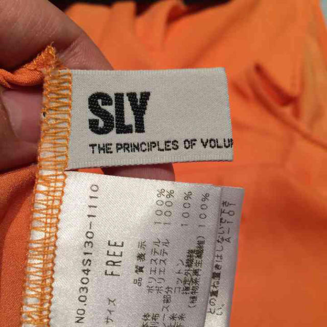 SLY(スライ)のSLY ブラウス 袖なし レディースのトップス(シャツ/ブラウス(半袖/袖なし))の商品写真