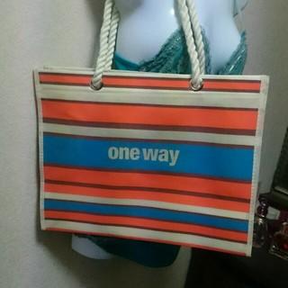 ワンウェイ(one*way)のone way 限定 ショッパー♡(ショップ袋)