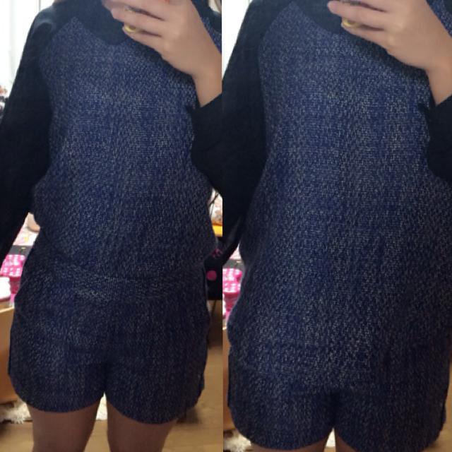 GU(ジーユー)のセットアップ レディースのトップス(Tシャツ(長袖/七分))の商品写真