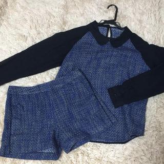 ジーユー(GU)のセットアップ(Tシャツ(長袖/七分))