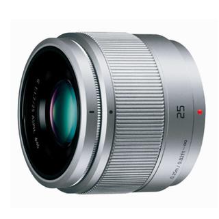 パナソニック(Panasonic)のLUMIX 単焦点 レンズ  (シルバー)(レンズ(単焦点))