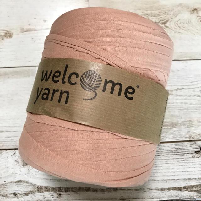 ☺︎3m¥300☺︎ welcom yarn ピンクベージュ♡ ハンドメイドの素材/材料(生地/糸)の商品写真
