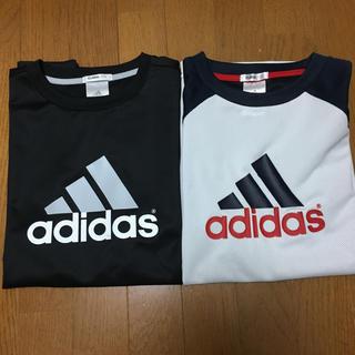 アディダス(adidas)のadidas スポーツTシャツ 2枚セット(Tシャツ/カットソー(半袖/袖なし))