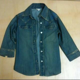シマムラ(しまむら)のジーンズ生地のジャケット(Gジャン/デニムジャケット)