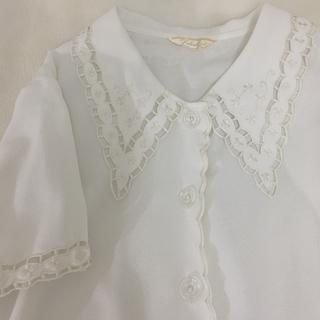 vintage blouse(シャツ/ブラウス(半袖/袖なし))