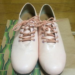 Zipperシューズ ぺたんこ靴(スニーカー)