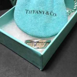 ティファニー(Tiffany & Co.)のティファニー アトラス ナローリング スターリングシルバー 17号(リング(指輪))