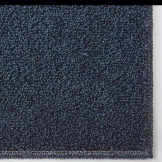ムジルシリョウヒン(MUJI (無印良品))の◆新品◆ 無印良品 ナイロン パイル やわらかラグ ネイビー 140×200 ㎝(ラグ)