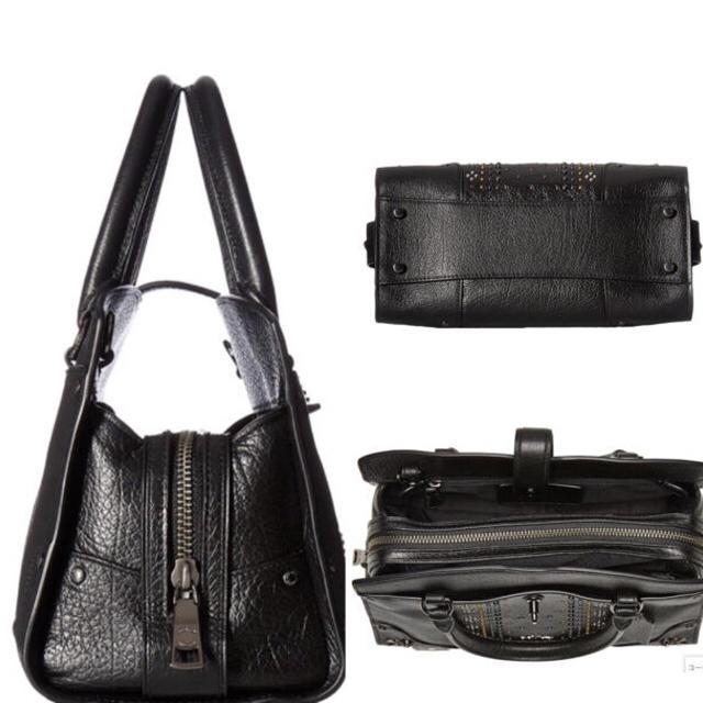 COACH(コーチ)の新品 2way ショルダーバック ハンドバッグ 黒 レア  レディースのバッグ(ショルダーバッグ)の商品写真