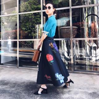 アメリヴィンテージ(Ameri VINTAGE)のameri vintage アマンダスカート(ロングスカート)