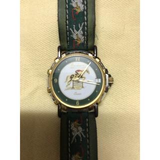 ピエールラニエ(Pierre Lannier)の【本物】Pierre Lannier ピエール ラニエ 馬術 クオーツ 時計(腕時計)