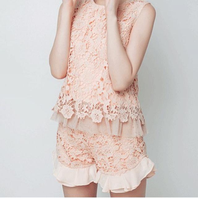 dazzlin(ダズリン)のdazzlin♡フリルショートパンツ レディースのパンツ(ショートパンツ)の商品写真