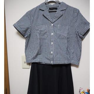 ページボーイ(PAGEBOY)のギンガムチェック シャツ(シャツ/ブラウス(半袖/袖なし))
