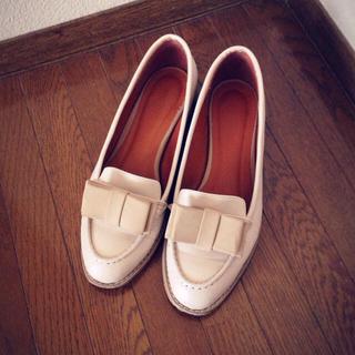 ランダ(RANDA)のリボン付*クラシックローファー(ローファー/革靴)