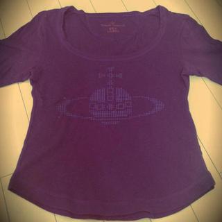 ヴィヴィアンウエストウッド(Vivienne Westwood)のヴィヴィアン 七部Tシャツ(カットソー(長袖/七分))
