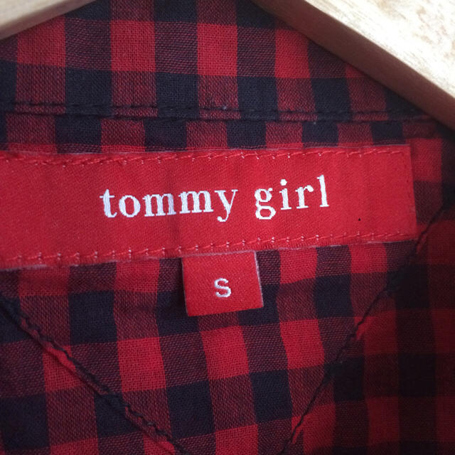 tommy girl(トミーガール)のtommy girl 半袖シャツ レディースのトップス(シャツ/ブラウス(半袖/袖なし))の商品写真