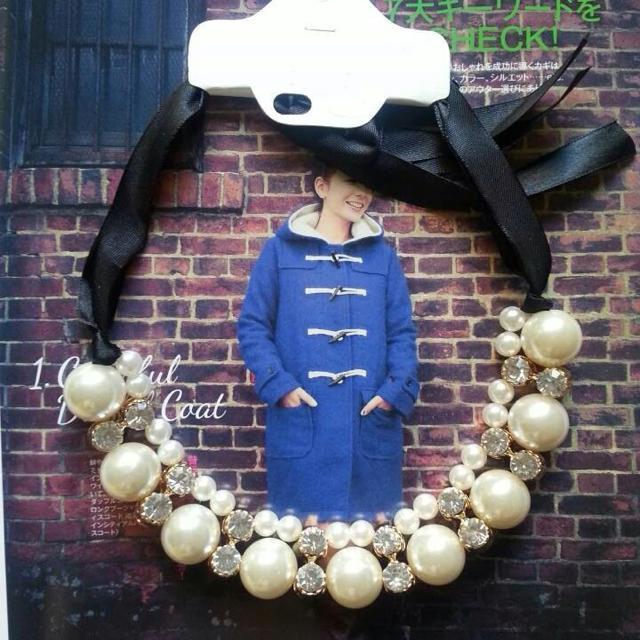 品薄★パールチョーカーホワイト レディースのアクセサリー(ネックレス)の商品写真